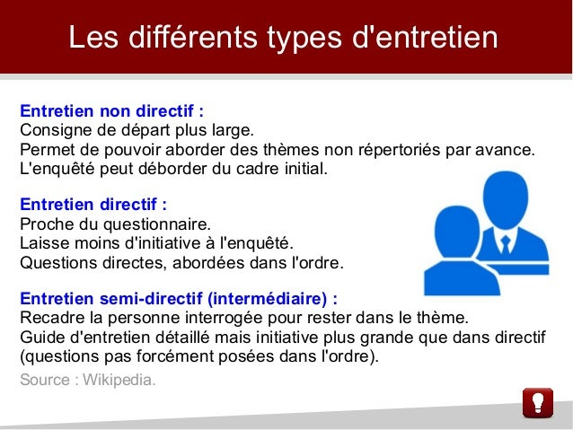 exemple guide d entretien semi directif marketing